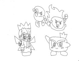 Kirby Characters 6 by Dancrew2010