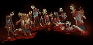 ZOMBIES!!! by huskertim27