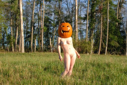 the pumpkin queen by photographydomine