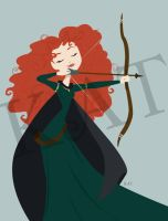 Princess Merida by KatisMrsLovett