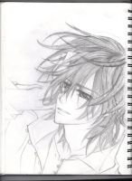 Sketch version of vampire Knight by yinbei