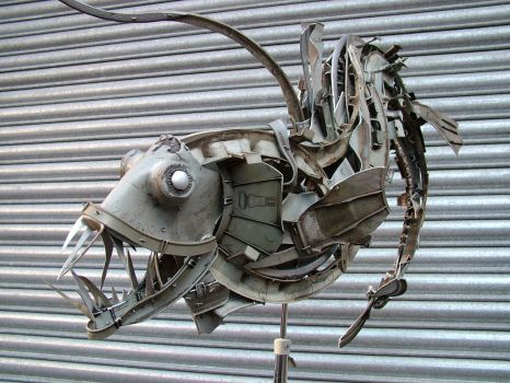 Scruffy Viperfish by HubcapCreatures