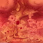 A Night in the Woods [Doodle] by Lyra-Somnium