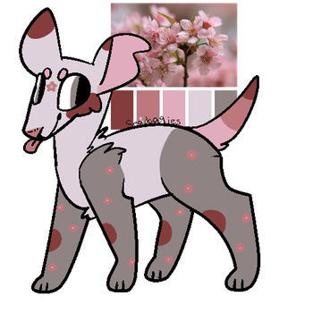 10 POINT CHERRY BLOSSOM AESTHETIC ADOPT [CLOSED] by Marchcronus