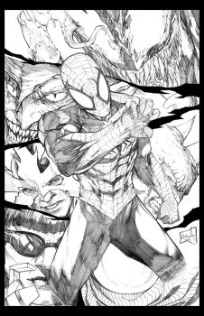 Spiderman for FCBD 2014 by hanzozuken