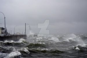 Hurricane Sandy 07 by ArtieWallace