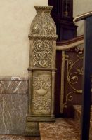Art Nouveau Pillar : 02 by taeliac-stock