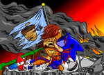 Death Of Sonic The Hedgehog by JeremyAcorn