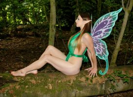 Summer Faerie by Red-Draken