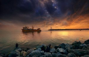 kumkapi evening..... by 1poz