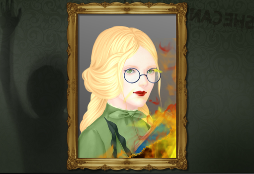 Olivia Malfoy's Haunted Mansion Picture by gxfan537