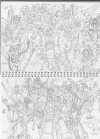 Starscreams in Animation, Comic, movie series by Guymay