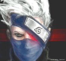 kakashi-- sharringan glow by crashhappy