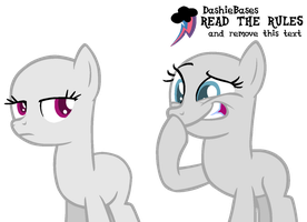 MLP Base: Her tatas are so small is funny by DashieBases
