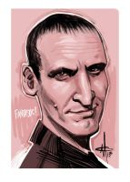 The Ninth Doctor by mattolsonart