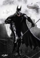 BATMAN - ARKHAM CITY by isikol