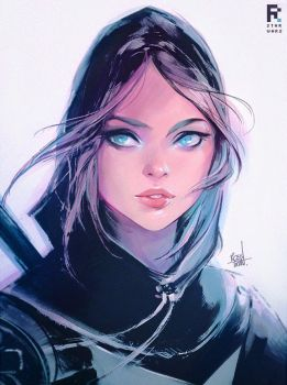 Jyn Sketch! by rossdraws