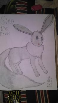 Sino the Eevee by inviseon25