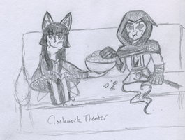 Tomoe Timelines - Clockwork Theater by snowcloud8