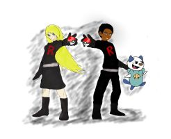 We Joined Team Rocket! by pokemonpuppy1
