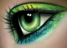 Mermaid Eye by gabbyd70