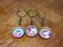 Sparity bottle cap keychains by lcponymerch