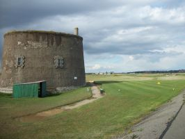 Martello Tower - view 3 by Anita-Sanderson