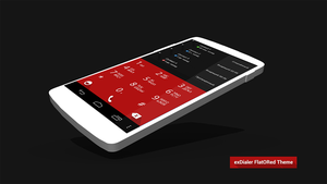 ExDialer FlatORed Theme by Karsakoff