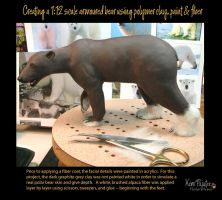 Creating a 1:12 scale armoured bear #9 by Pajutee
