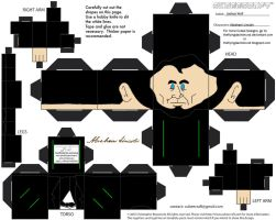 PC2: Abraham Lincoln Cubee by TheFlyingDachshund