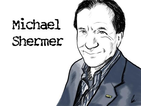 Michael Shermer Sketch - Ver.1 by Argama