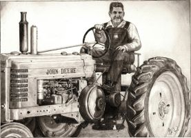 Commission - John Deere by phaidor