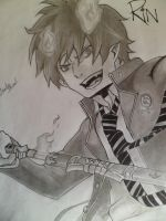 AO NO EXORCIST by WOWlightning