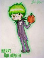 Halloween Ferb by GabieGaga91