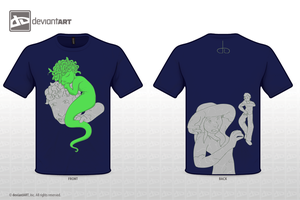 baby gorgon T-shirt revised