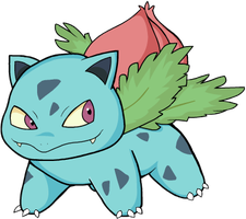 002 Ivysaur by HappyCrumble