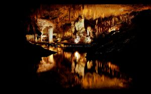 Lake Cave by RaynePhotography