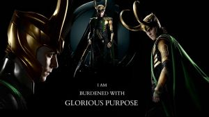 I AM BURDENED WITH GLORIOUS PURPOSE - WALLPAPER by Slightly-Spartan