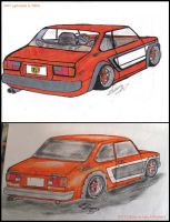 '79 Toyota Corolla sedan remake by Mister-Lou