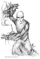 Duelling Voldemort by FultNamn