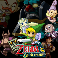Legend of Zelda- Spirit Tracks by l-Silver-l