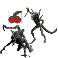Alien getting spanked by another Alien with a by terynn123