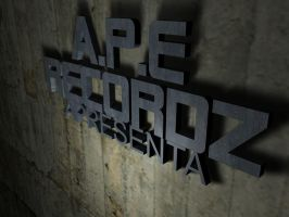 APE RECORDZ WORK by 163chorao163