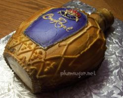 Crown Royal Cake by ilexiapsu