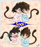 Little Saiyans, big friendship by P-JoArt