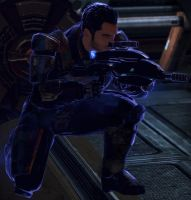 Kaidan in action by TheLostGirl21