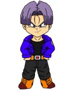 Future Trunks by HigashiKaioshin