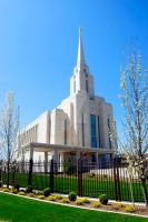 LDS Oquirrh Mountain Temple by creativelycharged