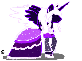Princess Violet NightMare Night Outfit by Honey-PawStep