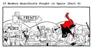 If Modern Anarchists Fought in Spain (Part 4) by RednBlackSalamander